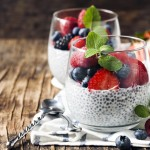 organic chia pudding
